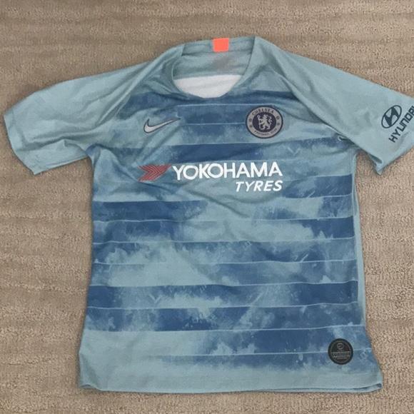 super cute 37e58 c4395 Nike Chelsea 18/19 Third Kit with Hyundai patch